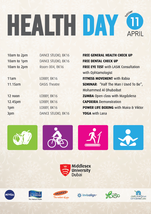 Annual Health Day at MDX Dubai