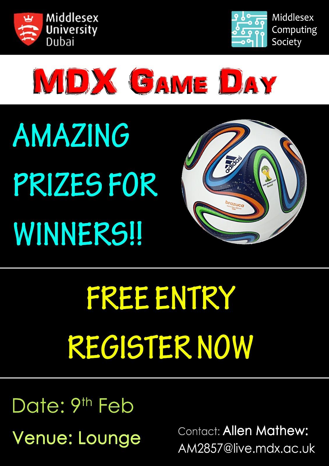 MDX GAME DAY