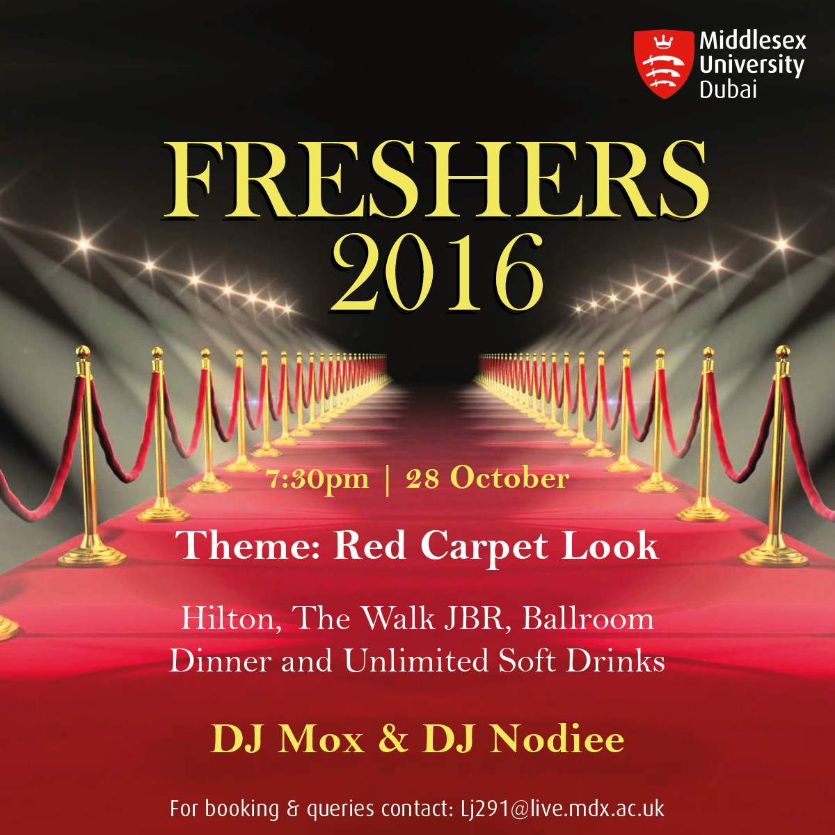 Freshers party 2016!