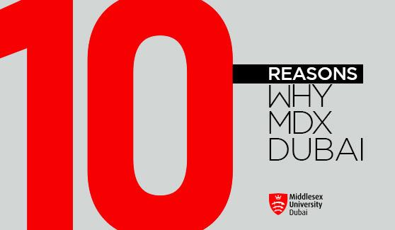 10 Reasons Why Middlesex University Dubai