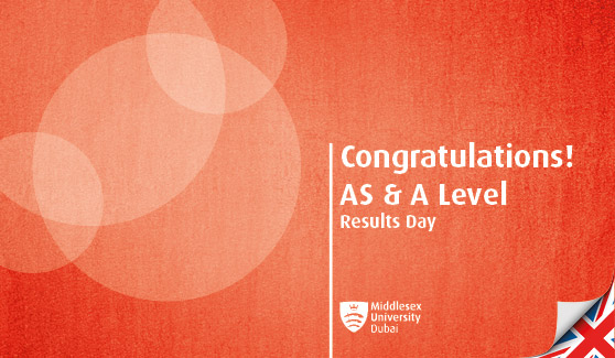 Congratulations on receiving your AS & A Level results