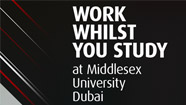 Work Whilst You Study at Middlesex University Dubai