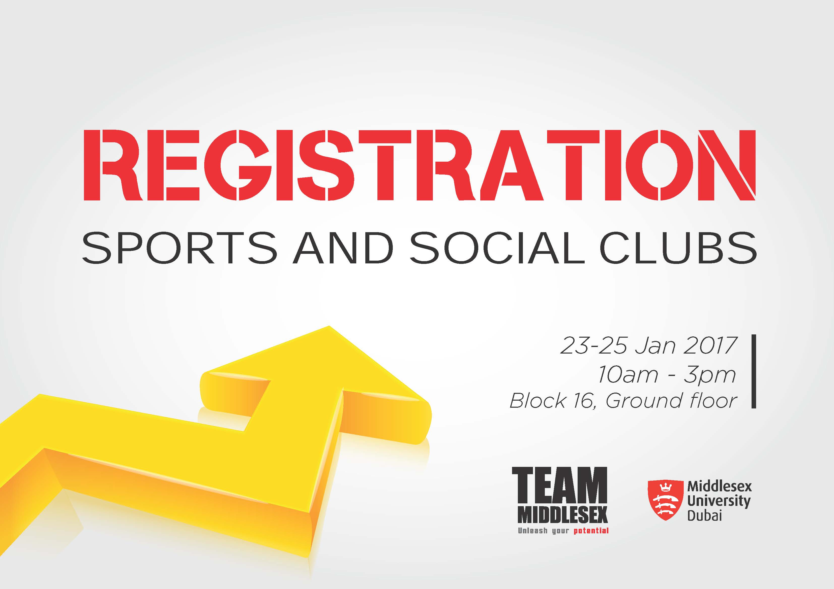 Sports and Social Clubs Registrations