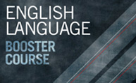 English Language Booster Course