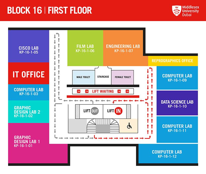 BLOCK 16 FIRST FLOOR