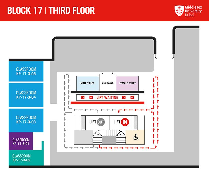 BLOCK 17 - THIRD FLOOR