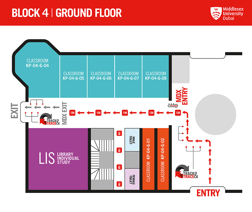 BLOCK 4 GROUND FLOOR