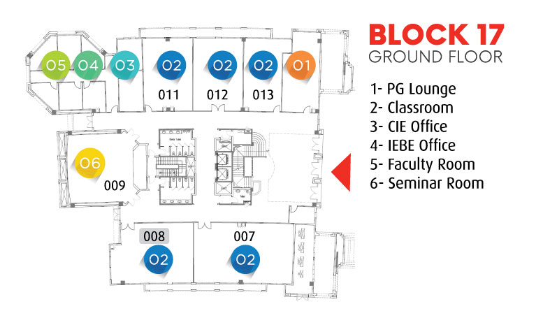 Block 17 - Ground Floor