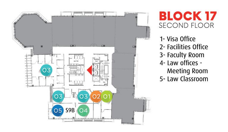 Block 17 - Second Floor