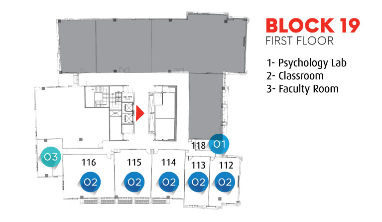 Block 19 - First Floor