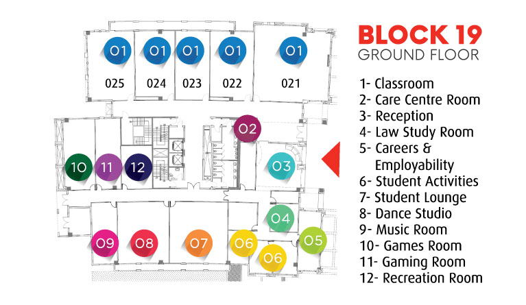Block 19 - Ground Floor