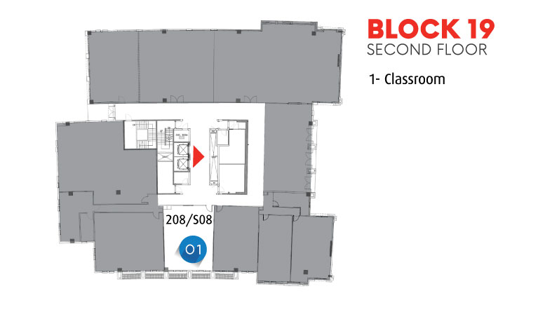 Block 19 - Second Floor
