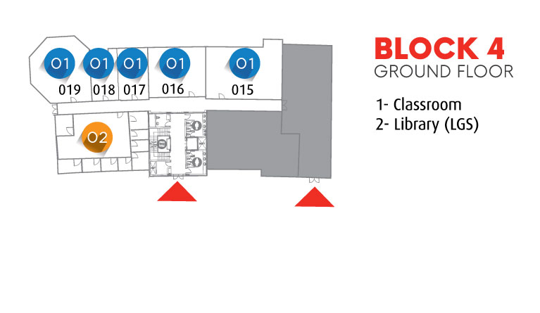 Block 4 - Ground Floor