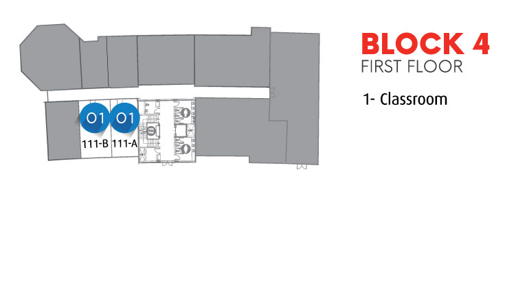 Block 4  First Floor