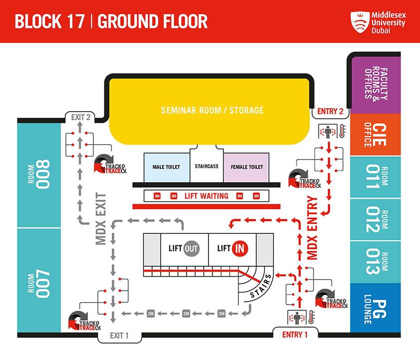 BLOCK 17 - GROUND FLOOR