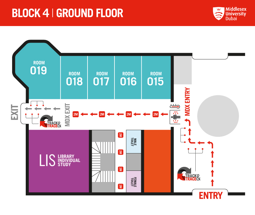 BLOCK 4 GROUND FLOOR