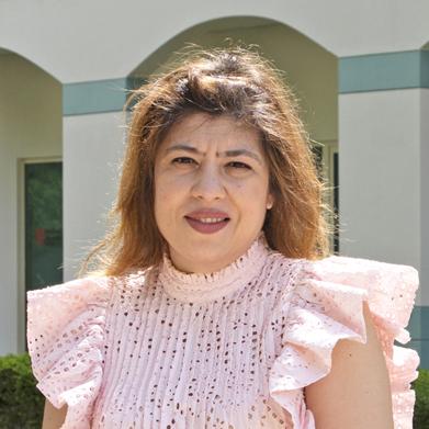 Mahine Rizvi Ahmad MSc FHEA