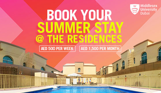 Book Your Summer Stay @ The Residences