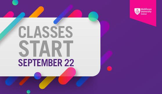 Classes Start