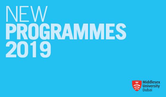 New Programmes 2019