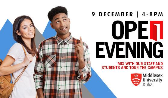 Open Days 9 December