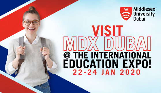 Visit MDX Dubai @ The International Education Expo