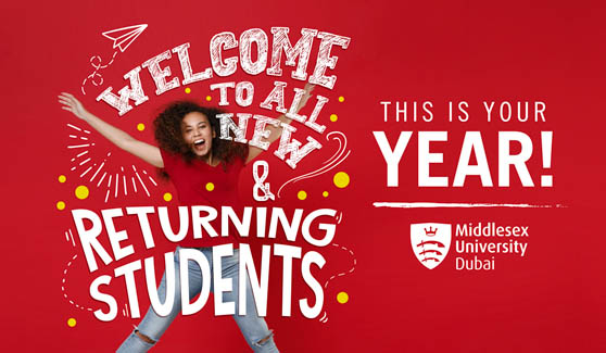 Welcome to all new and returning students