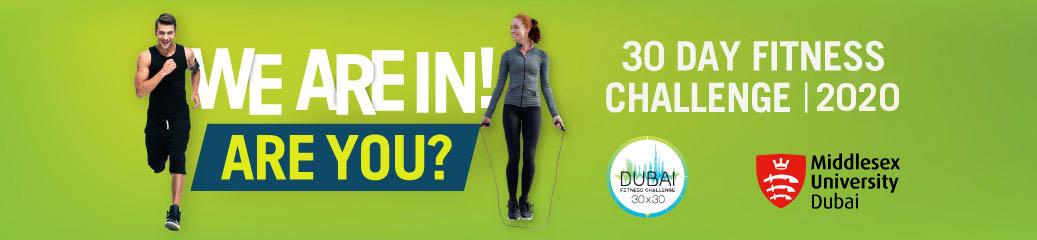 30 days fitness challenge 2020