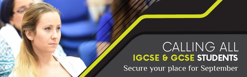 Calling all IGCSE and GCSE students