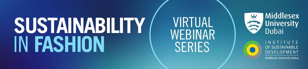 Fashion Sustainability webinars