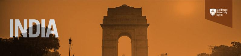 Middlesex University Dubai visits India