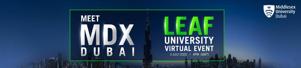 Leaf University Virtual Event