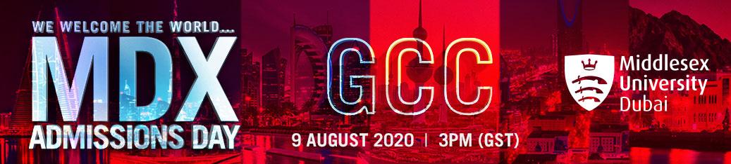 MDX Admission Day - GCC