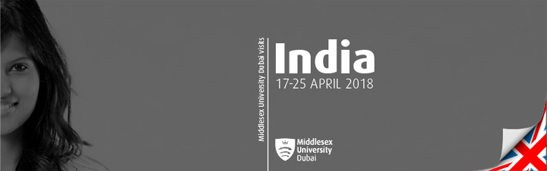 Middlesex University Dubai visits India