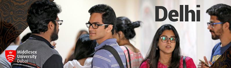 Middlesex University Dubai visits New Delhi!