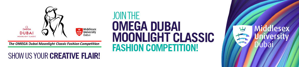 The OMEGA Dubai Moonlight Classic Fashion Competition