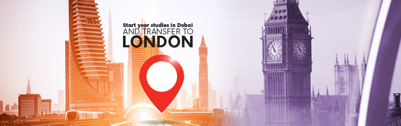 Start your studies in Dubai and transfer to London