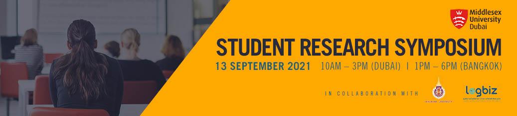 Student Research Symposium
