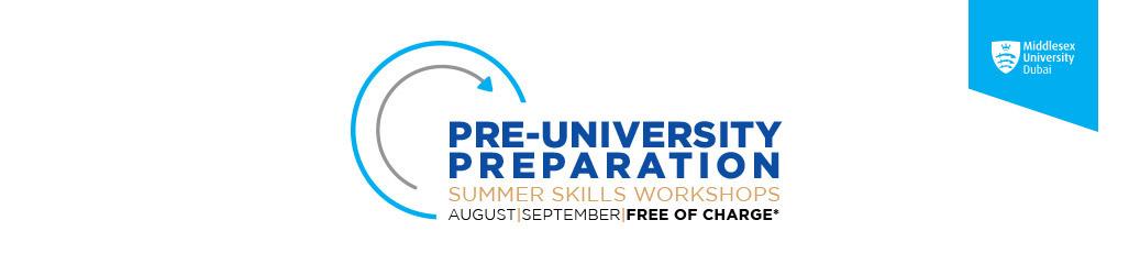 Pre-University Workshops | Middlesex University Dubai