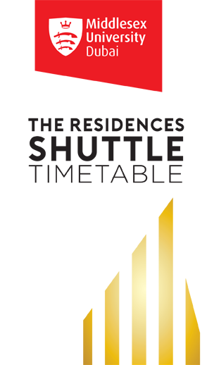 The Residences Shuttle Timetable