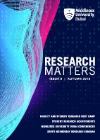 Research Matter Vol 9